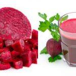 Foto: 4 motive pentru care poți să consumi zilnic un pahar de suc de sfeclă roșie