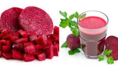 4 motive pentru care poți să consumi zilnic un pahar de suc de sfeclă roșie