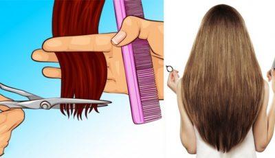 Ce se întâmplă de fapt dacă îți tunzi des vârfurile firelor de păr?