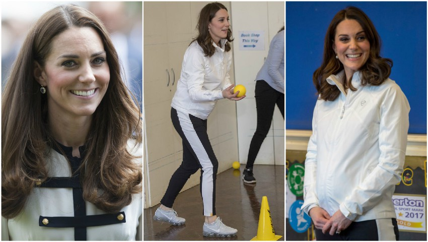 Foto: Ce face Kate Middleton pentru a se menține în formă în timpul sarcinii?