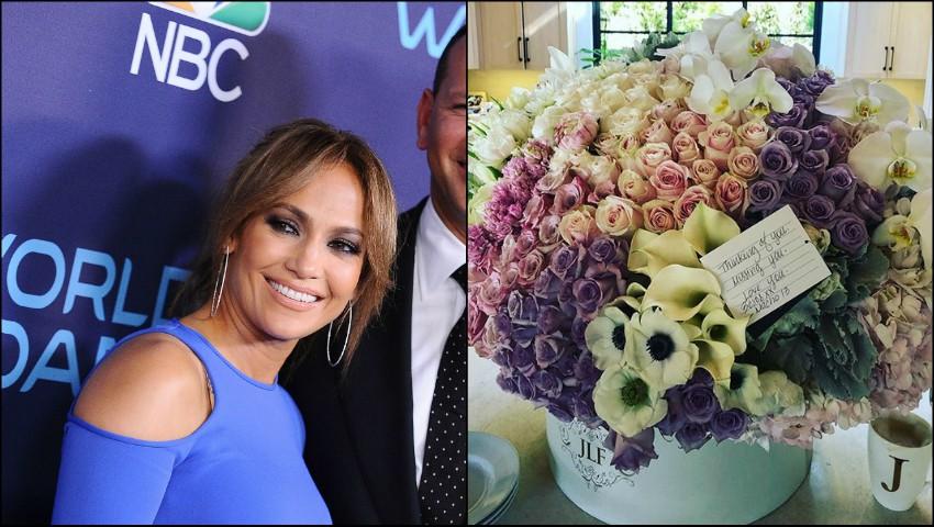 Foto: Jennifer Lopez a primit deja cadoul de Valentine's Day?