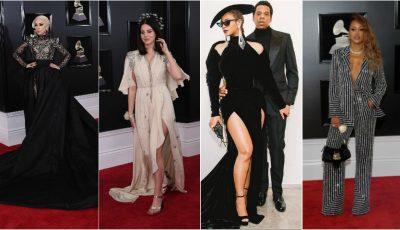 Apariții spectaculoase la premiile Grammy 2018! Cum s-au îmbrăcat vedetele?