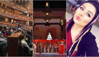 Olga Busuioc alături de mari artiști ai lumii, în spectacolul Turandot din Shangai
