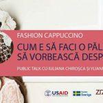 Foto: Prima ediție Fashion Cappuccino din acest an. Creatoarea de pălării Iuliana Chiroșca ne va învăța cum să facem o pălărie cu personalitate