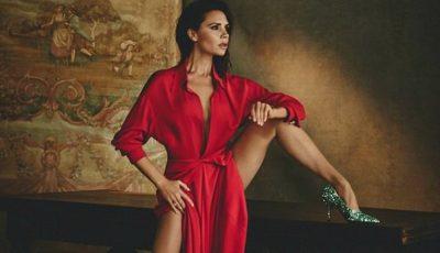 Victoria Beckham, seducătoare și flexibilă într-o ședință foto inedită pentru Vogue!