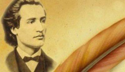 Astăzi se împlinesc 168 de ani de la nașterea poetului Mihai Eminescu