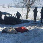 Foto: Patru angajați ai Poștei Moldovei au murit într-un teribil accident produs azi-dimineață