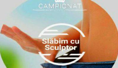 """,,Campionatul de slăbit"""" – înscrie-te și participă la cea mai importantă competiție organizată de Centrul Estetic """"Sculptor""""!"""