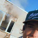 Foto: Dramatic! Casa lui Ilie Bivol a ars