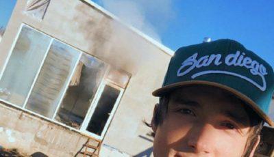 Dramatic! Casa lui Ilie Bivol a ars