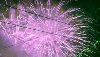 Video! Spectacolul cu focurile de artificii din PMAN, în noaptea de Revelion