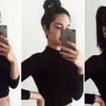 Foto: Este însărcinată în ultima lună, dar burtica abia se vede! O tănără face senzație pe Instagram