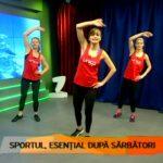Foto: Cum slăbești după sărbători. Iată un set de exerciții care te vor ajuta să scapi rapid de grăsimea acumulată!