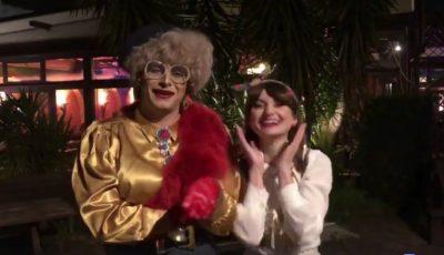 """,,Doamna Dora"""" îi urează pe moldoveni, de la Roma. Video!"""