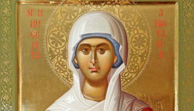 Astăzi este sărbătorită Sfânta Muceniță Anastasia