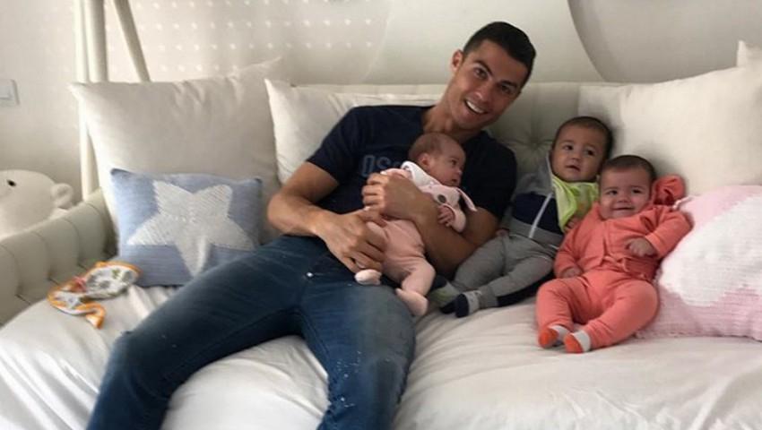 Foto: Poze noi cu mezina lui Cristiano Ronaldo