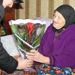 Foto: O femeie din Moldova a împlinit 110 ani!