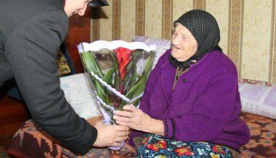 O femeie din Moldova a împlinit 110 ani!