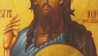 Biserica ortodoxă de rit vechi îl sărbătorește pe Sfântul Ioan Botezătorul