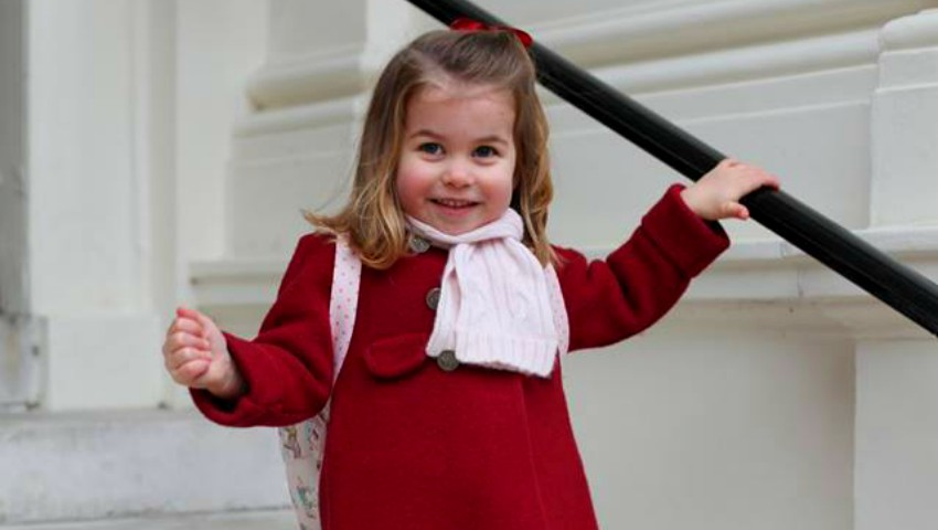 Foto: Fotografii din prima zi de grădiniță cu Prințesa Charlotte