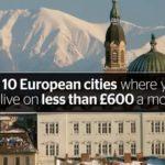 Foto: Chișinăul a intrat în topul orașelor în care se poate trăi cu mai puțin de 675 euro pe lună