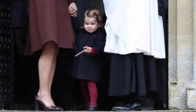 Prințesa Charlotte a mers prima zi la grădiniță