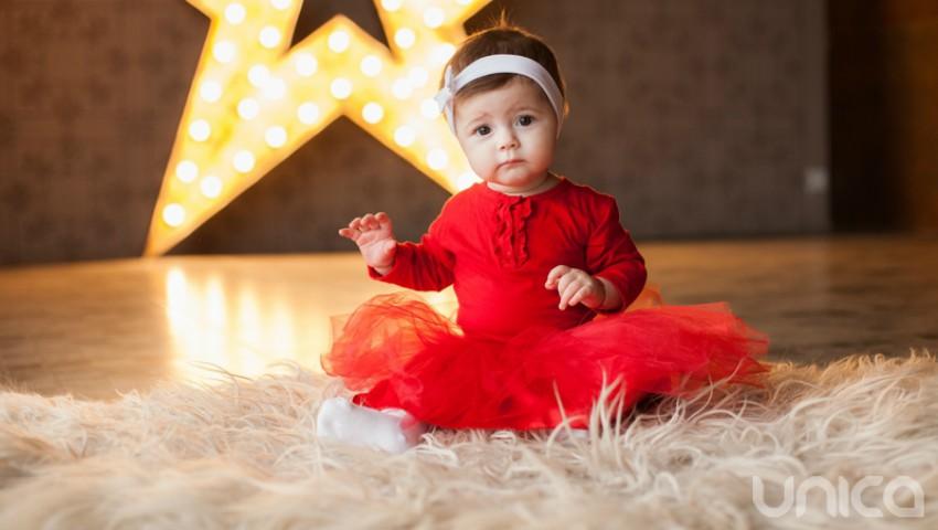 Foto: Dumitrița Reabenchii este câștigătoarea concursului Baby Star în luna decembrie!