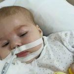 Foto: Nichita de doar șase luni se luptă să trăiască! Acum, viața lui costă 20.000 de euro