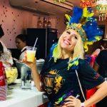 Foto: Diana Rotaru într-o vacanță în Brazilia. Vezi cum se distrează focoasa blondă la Carnavalul de la Rio