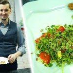 Foto: Eduard Musteață a gătit o salată în miniatură, dar bogată în nutrienți