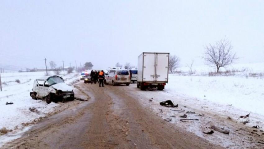 Foto: S-a stabilit cauza producerii teribilului accident la Telenești, unde două persoane au decedat, iar alta se află în stare gravă la spital