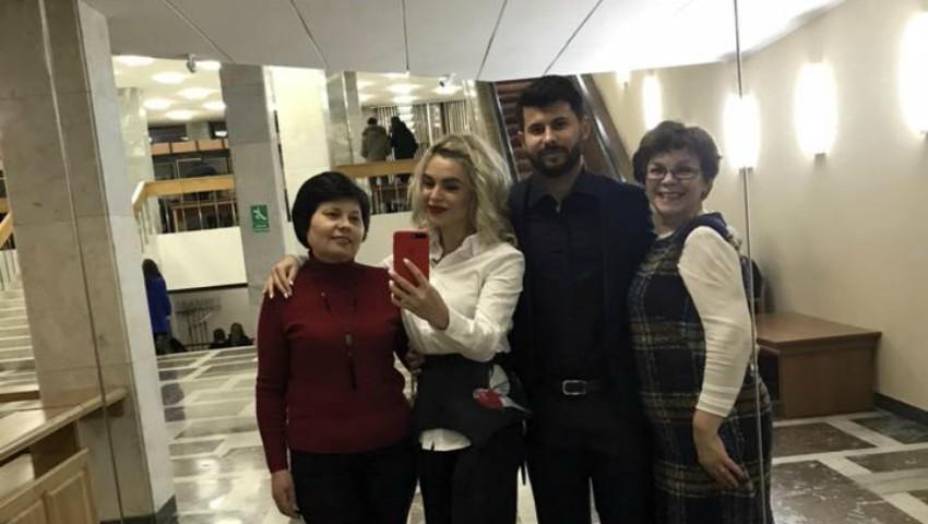 Foto: Cadou inedit de Ziua Îndrăgostiților! Daniela Burlac a mers cu mamele la concertul lui Smiley