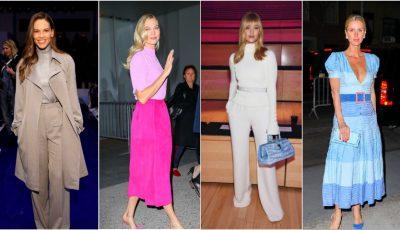 Ce ținute au purtat vedetele la Săptămâna Modei de la New York