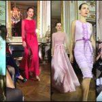 Foto: Un designer de la noi și-a prezentat colecția de rochii la Paris Fashion Week!