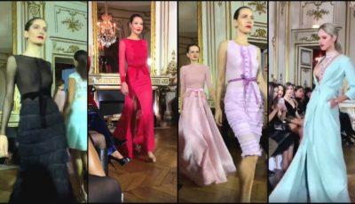 Un designer de la noi și-a prezentat colecția de rochii la Paris Fashion Week!