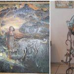 Foto: Expoziție de artă inedită vernisată la Soroca