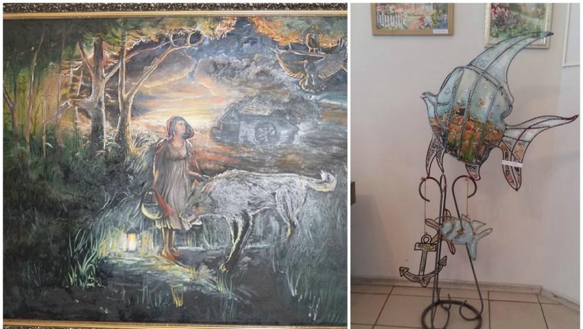 Expoziție de artă inedită vernisată la Soroca