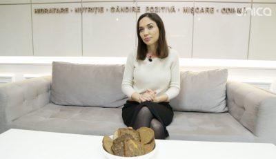 Galina Tomaș, despre consumul de pâine