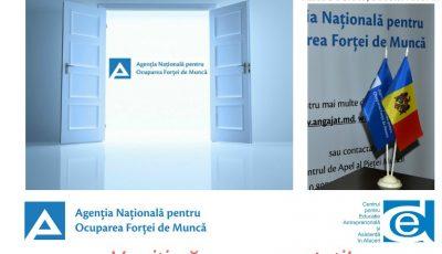 """""""Ziua Ușilor Deshise"""" la Agenția Națională pentru Ocuparea Forței de Muncă și structurile sale teritoriale"""