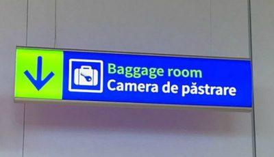 La Aeroportul Internațional Chișinău a fost amenajată o cameră pentru păstrarea bagajelor