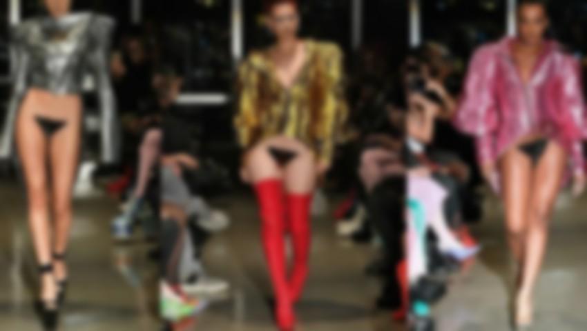 Foto: Tendință controversată: peruci pentru zona intimă la o prezentare de modă