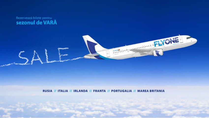 Foto: Compania Fly One a deschis vânzarea biletelor de avion pentru perioada de vară