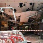 Foto: Tavanul unui supermarket din Chișinău s-a prăbușit