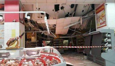 Tavanul unui supermarket din Chișinău s-a prăbușit