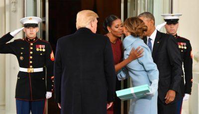Michelle Obama a dezvăluit ce cadou a primit de la soții Trump în Ziua Inaugurării în 2017