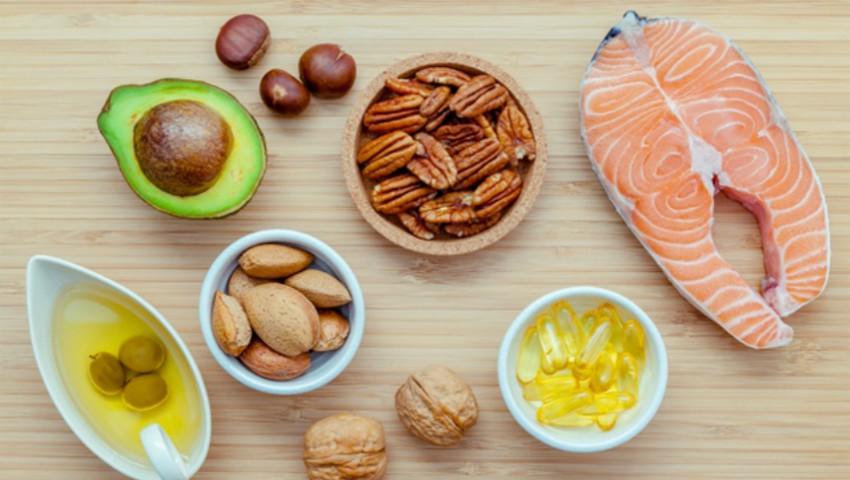 Image result for peștele, avocado, nucile, semințele