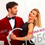 Foto: Dianna Rotaru și interpretul ucrainean Roman Babak au lansat o piesă de dragoste