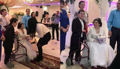 Un vis împlinit! Imagini video emoționante de la nunta lui Marin Andronachi şi a Mariei Sofroni