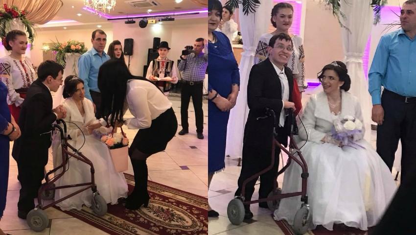 Foto: Un vis împlinit! Imagini video emoționante de la nunta lui Marin Andronachi şi a Mariei Sofroni