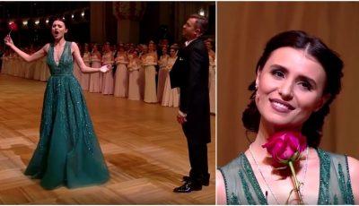 Spectaculos! Valentina Naforniță, în deschiderea Wiener Opernball 2018. Vezi video!